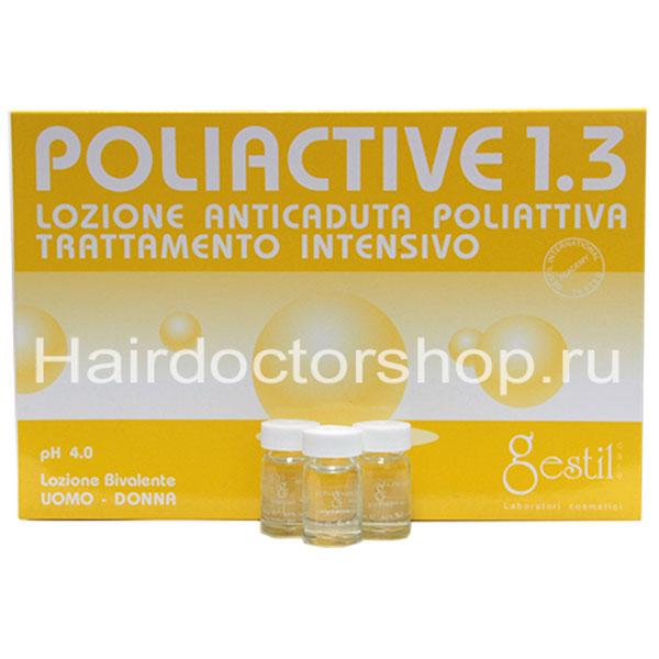 Интенсивный лосьон Gestil 1.3 при чрезмерном выпадении волос и всех видах алопеции